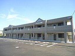 福岡県直方市大字上頓野の賃貸アパートの外観