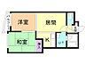 間取り,2LDK,面積43m2,賃料4.2万円,札幌市電2系統 西線14条駅 徒歩4分,札幌市電2系統 西線16条駅 徒歩4分,北海道札幌市中央区南十五条西16丁目