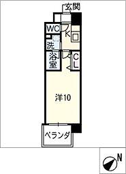 仮)乙輪町2丁目マンション[2階]の間取り
