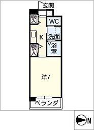 メゾンやわらぎ[2階]の間取り