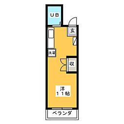 柴ビル[2階]の間取り