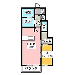NOBLE[1階]の間取り