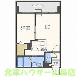 サンコート円山ガーデンヒルズ[9階]の間取り
