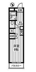 宮崎ビル[8階]の間取り