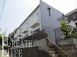 埼玉県さいたま市桜区西堀1丁目の賃貸アパートの外観