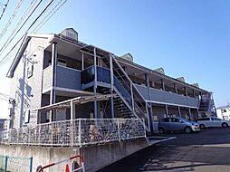 長野県長野市三輪2丁目の賃貸アパートの外観