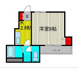 Beati[1階]の間取り