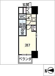 S−RESIDENCE千種[4階]の間取り