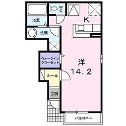 M・Kマンション partVI[0103号室]の間取り
