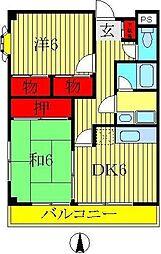 SASビル[3階]の間取り