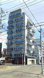 北海道札幌市中央区南三条西23丁目の賃貸マンションの外観
