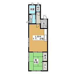 グランメゾン[2階]の間取り