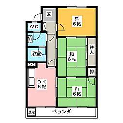 第2豊田ビル[2階]の間取り