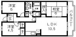 M TAKAI(エムタカイ)[205号室号室]の間取り