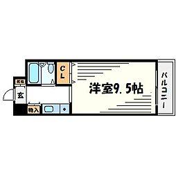 タケダビル[8階]の間取り