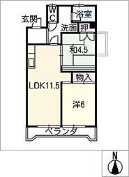 伊藤忠ビル[3階]の間取り