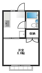 TSハウス[102号室]の間取り
