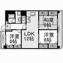 シティコーポ千代田[9階]の間取り