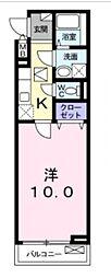 ボヌールアヴニール2[101号室号室]の間取り
