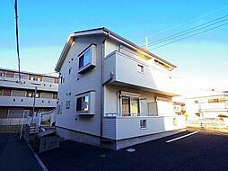 埼玉県所沢市東町の賃貸アパートの外観