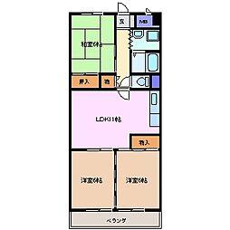 杉善第2ビル[2階]の間取り