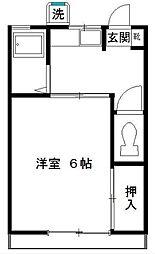メゾンいずみ[2階]の間取り