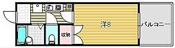穂積マンション[702号室]の間取り