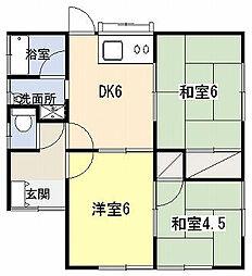 [一戸建] 神奈川県平塚市出縄 の賃貸【/】の間取り