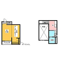 project円明[1階]の間取り