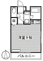 クレッシェンド[3階]の間取り