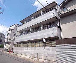 京都府京都市山科区御陵下御廟野町の賃貸マンションの外観