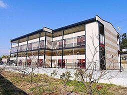 奈良県生駒市東菜畑2丁目の賃貸アパートの外観