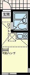 ユナイト小田モンセラッドの杜[2階]の間取り