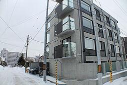 北海道札幌市厚別区青葉町4の賃貸マンションの外観