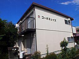 栃木県宇都宮市春日町の賃貸アパートの外観