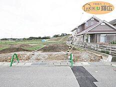区画整理地内です(^^) 建築条件無しの土地なので、理想の間取り、お気に入りのハウスメーカーさんで建築できます。