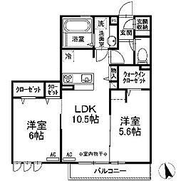 (仮)D-room西大沼[3階]の間取り