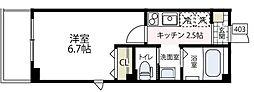 (仮称)ビューノ伊勢町[403号室号室]の間取り
