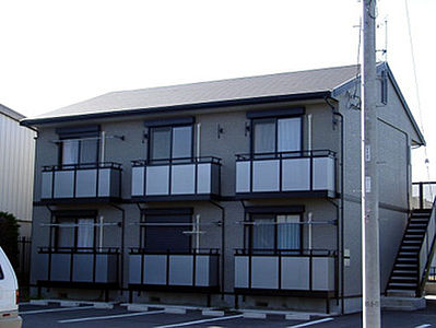 外観,1K,面積26.5m2,賃料4.4万円,JR常磐線 赤塚駅 徒歩30分,,茨城県水戸市見和