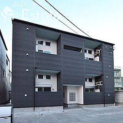 愛知県名古屋市中村区大正町2丁目の賃貸アパートの外観