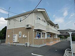 群馬県伊勢崎市華蔵寺町の賃貸アパートの外観
