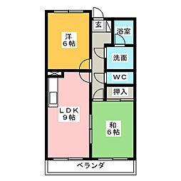 ファンタジア[1階]の間取り