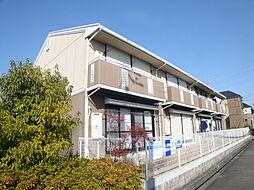 兵庫県宝塚市安倉南1丁目の賃貸アパートの外観