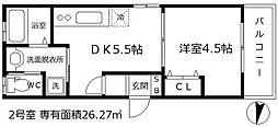 LuXe本庄東[3階]の間取り