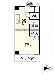 メゾン名城[3階]の間取り