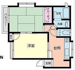 MARIHO石川町II[203号室]の間取り