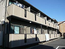 東京都大田区西糀谷2丁目の賃貸アパートの外観