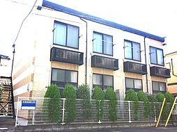 神奈川県川崎市多摩区布田の賃貸アパートの外観