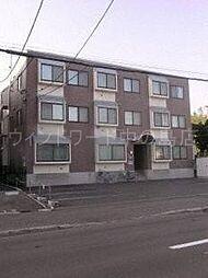 北海道札幌市豊平区美園二条2丁目の賃貸マンションの外観