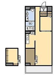 (新築)AKH K[401号室]の間取り